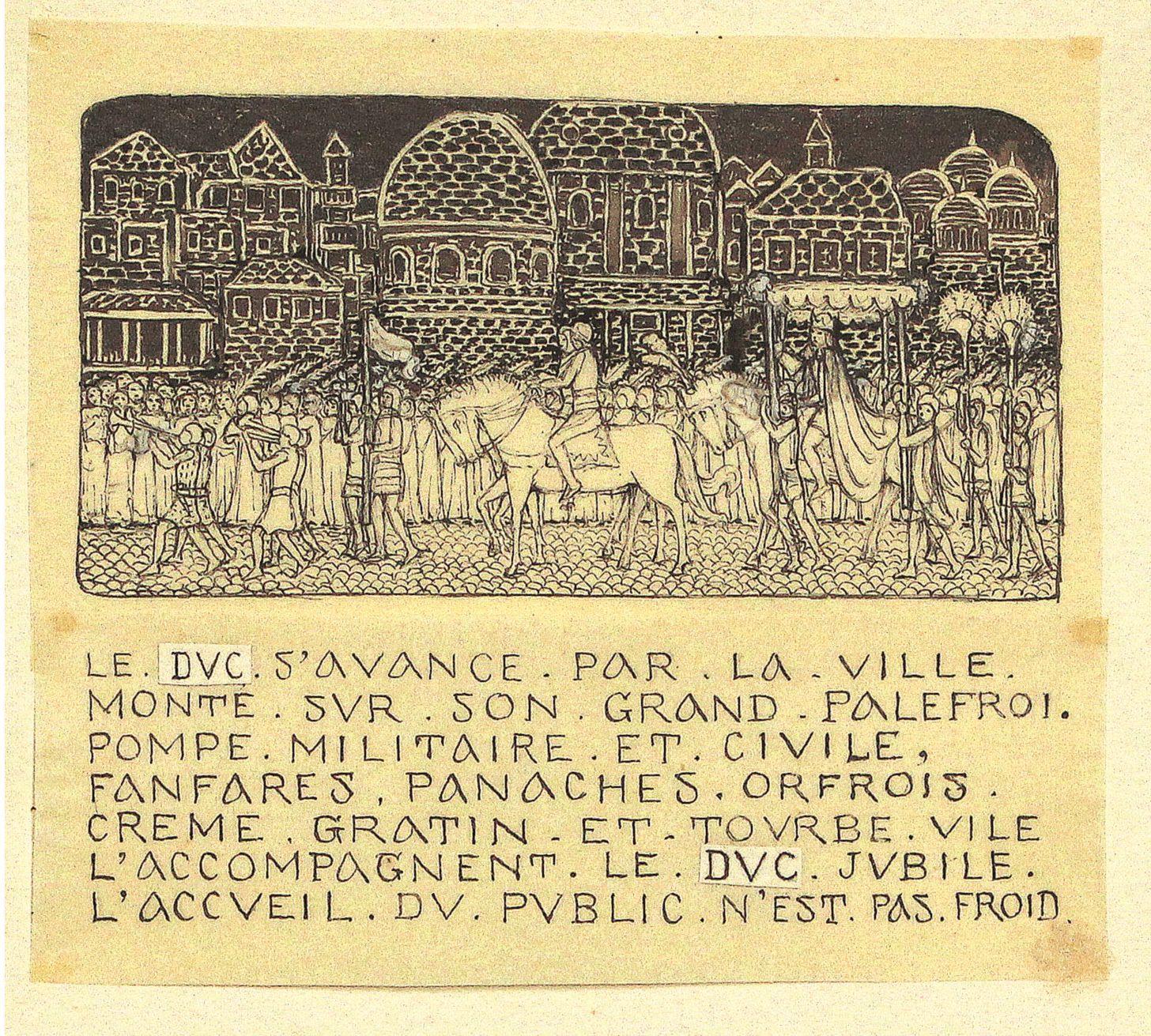Intrarea ducelui de Savoya în capitala sa